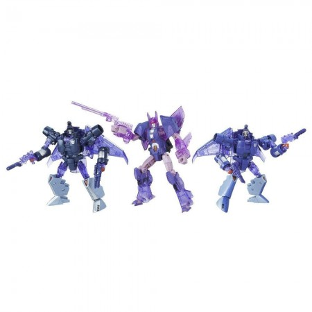 Transformers Platinum Armada Of Cyclonus 3 Pack