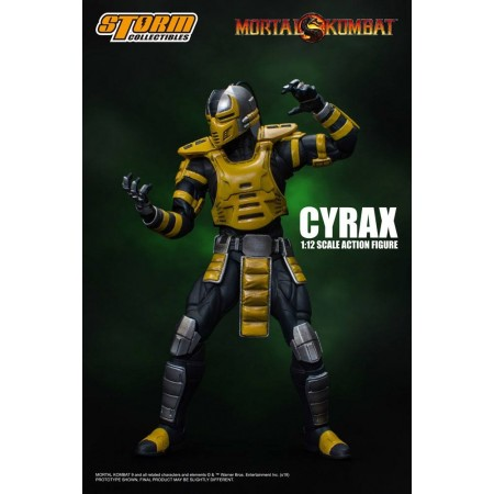 Figura de acción de Mortal Kombat Cyrax Storm Collectibles