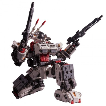Diaclone DA-37 Strike Buffalo Moon Assault Exclusive