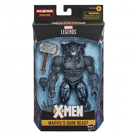 Marvel Leyendas Bestia Oscura 6 pulgadas Figura de acción ( Sugar Man BAF )