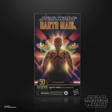 Star Wars The Black Series Darth Maul Sith Aprendiz de Acción Figura de Acción