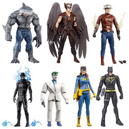 DC Multiverse King Shark Wave Set Of 6