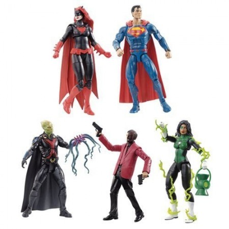 DC Multiverse Wave 8 Set of 5 Connect And Clayface