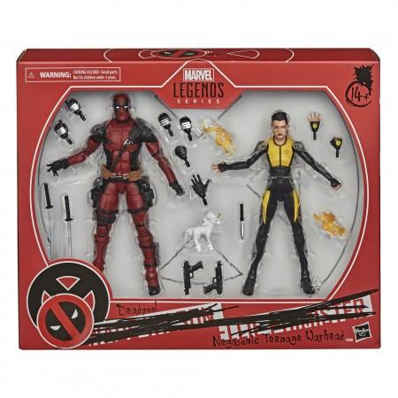 Marvel Legends Deadpool & Negasonic Teenage Warhead Acción Figura 2