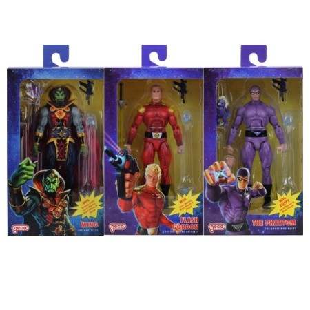 NECA Defenders of the Earth Series 1 Set of 3