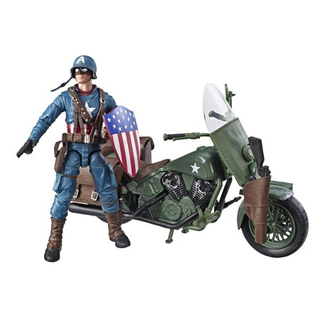Marvel Legends Deluxe Captain America & Motorcycle