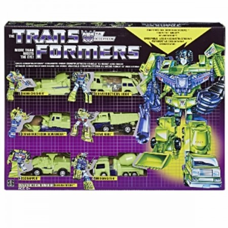 Transformers G1 Reissue Devastator Gift Set NON MINT