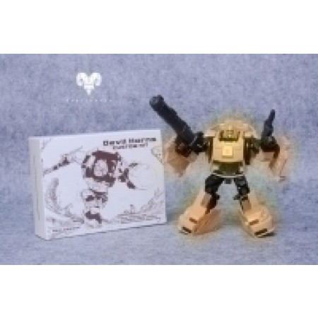 Beelzeboss Devil Horns 02 Yellow Cliffjumper Kit