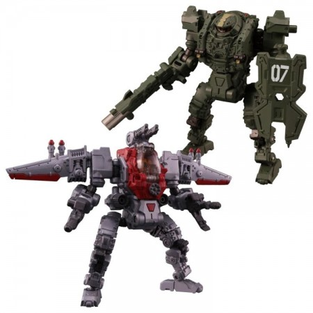 Diaclone DA-30 Powered System Gamma & Delta 2 Pack Exclusive