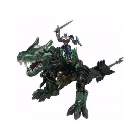 Transformers Movie 10th Anniversary Dino Ride Grimlock & Optimus