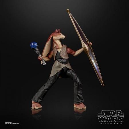 Star Wars The Black Series Deluxe Jar Jar Binks 6 Inch Action Figure