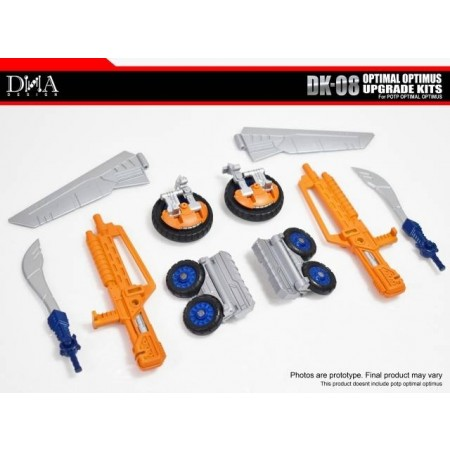 Kit de actualización de ADN Design DK-08 Optimus Primal