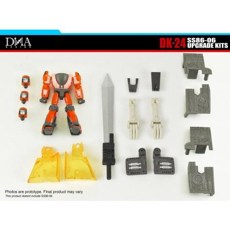 DNA Design DK-24 SS86 Grimlock Upgrade Kit