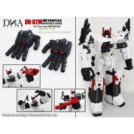 DNA Designs DK-02 Metroplex Movable Hand Upgrade Kit