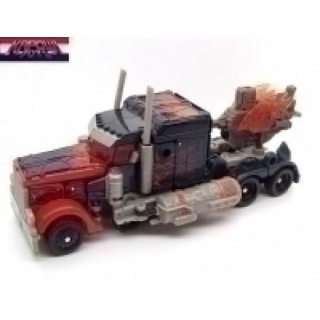DOTM Fireburst Optimus Prime Transformers PRE-OWNED