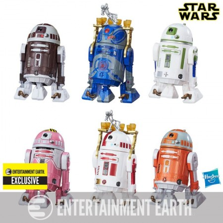 Star Wars Astromech Droid 6 Pack