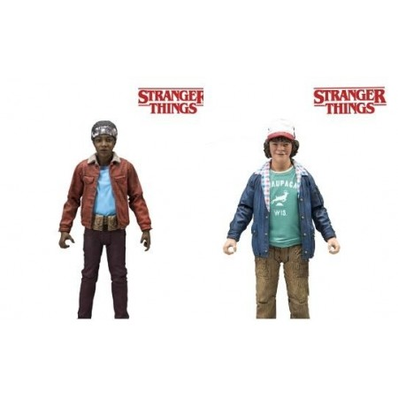 Mcfarlane Stranger Things Series 2 Dustin & Lucas Action Figures