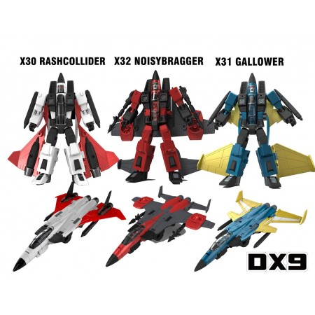DX9 War In Pocket Conehead Set of 3