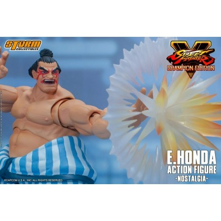 Figura de acción de E.Honda Street Fighter V Champion Edition Storm Collectibles