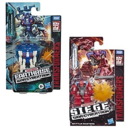 Transformers Earthrise Battle Masters Wave 1 Set of 2