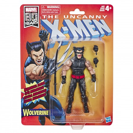 Marvel Legends X-Men Retro Collection Wolverine Action Figure