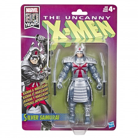 Marvel Legends X-Men Retro Collection Silver Samurai Action Figure