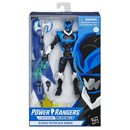 Power Rangers Lightning Collection Psycho Blue Ranger
