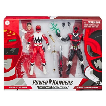 Power Rangers Lightning Collection Red Ranger & Psycho Red Ranger Two-Pack NOT MINT