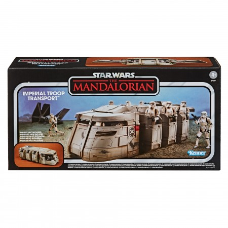 Star Wars The Vintage Collection - Vehículo - Mandalorian - Transporte de tropas imperiales
