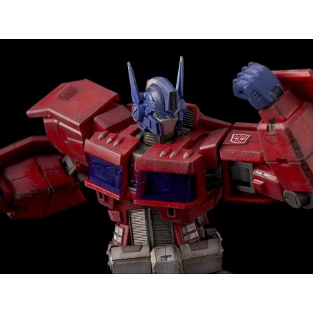 Flame Toys Furai Model Action IDW Optimus Prime Fully Built Action Figure