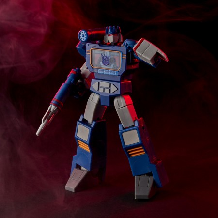 TRANSFORMERS R.E.D G1 ANIMATED SOUNDWAVE 6 INCH ACTION FIGURE