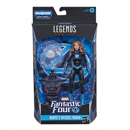 Marvel Legends The Invisible Woman 6 Inch Action Figure