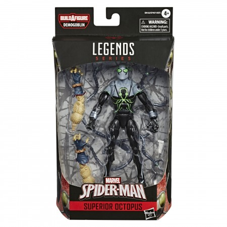 Figuras de acción de 6 pulgadas de Marvel Legends Superior Octopus