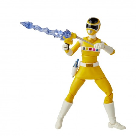 Power Rangers Lightning Collection Yellow Zeo Ranger Action Figure