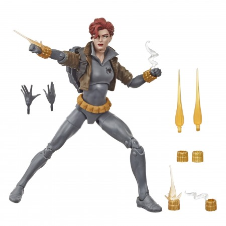 Marvel Legends Black Widow Grey Suit Exclusive Action Figure