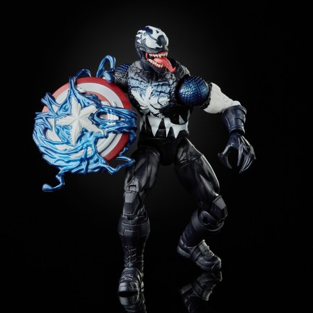 Marvel Legends Venomized Captain America Action Figure
