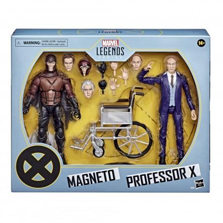 Marvel Legends X-Men 20th Anniversary Professor X & Magneto Action Figure 2 Pack
