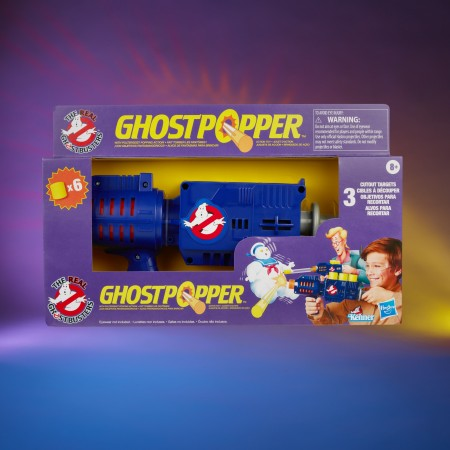 Kenner Classics The Real Ghostbusters Ghost Popper