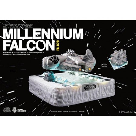 Egg Attack EA-020 Magnetic Floating Millennium Falcon