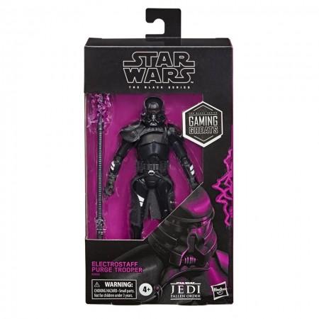 Figura de acción de Star Wars Black Series Electrostaff Purge Trooper