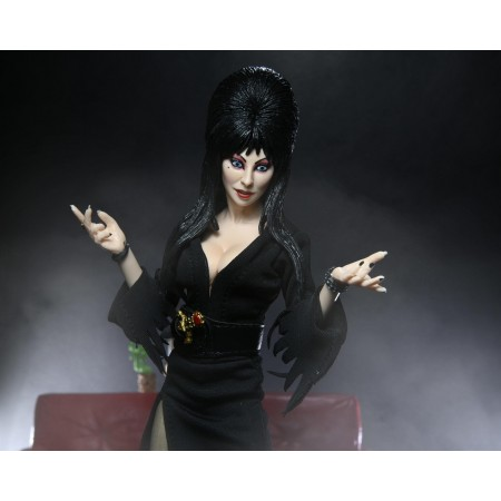NECA Elvira Mistress of Darkness 8 Inch Clothed Action Figure