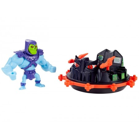 Masters Of The Universe Eternia Mini's Skeletor and Roton Vehicle