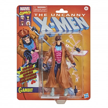 Marvel Legends Retro Gambit