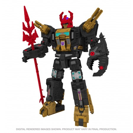 Transformers Generations Select Titan Black Zarak