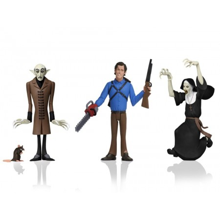 NECA Toony Terrors Wave 3 Set of 3 Featuring Ash