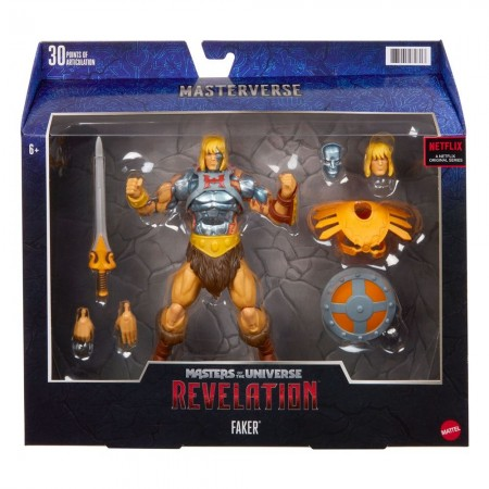 Masters of the Universe Revelation Faker Deluxe Action Figure
