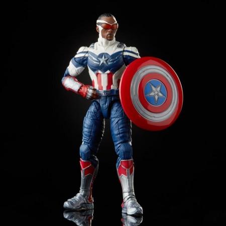 Marvel Legends Disney+ Captain America Sam Wilson Action Figure