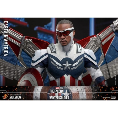 Hot Toys The Falcon and The Winter Soldier Captain America Sam Wilson 1/6 Scale Figure