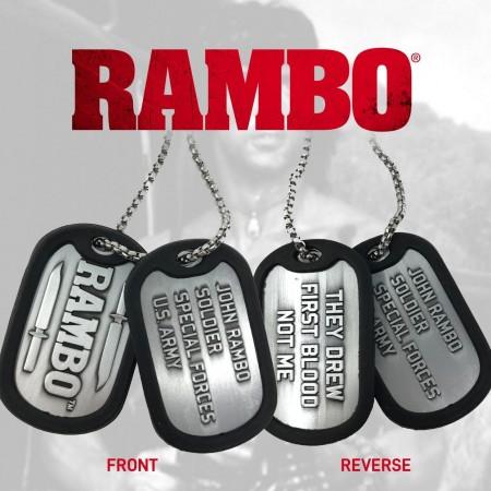 Rambo Dog Tags By FaNaTtik