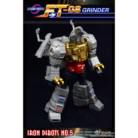 FANSTOYS FT-08 GRINDER - IRON DIBOTS NO.5